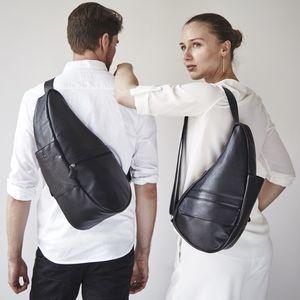 Ameribag Leather Healthy Back Kidney Sling Bag